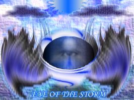eye of the storm by Unshakble