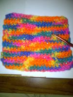 Crochet Dish Cloth by xXartistic-kitsuneXx