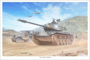 M41 Walker Bulldog by markkarvon