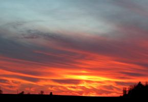 Set the Sky on Fire... by Michies-Photographyy