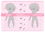 P2U | Chibi Kemonomimi Base Pack by greenmaggot-designs