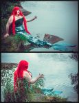 Russian mermaid by BlackTheMoon