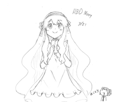 HBD Mary by Nekomori7339
