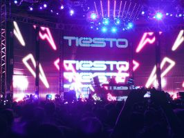 Tiesto's show in Bolivia v10 by zentenophotography