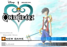 One Heart Title Screen by Chiibe