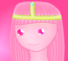 Princess Bubblegum by emolovesdark