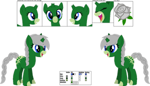 [GIFT] Wilted Reference Sheet by LR-Studios