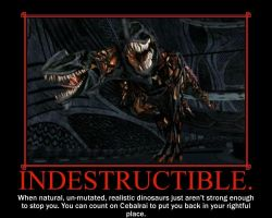 Indestructible. by TheArchosaurQueen