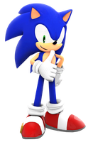 Sonic World thumbs up render by Nibroc-Rock