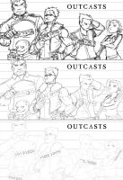 FMA sketchlines: outcasts by CoolBlueX