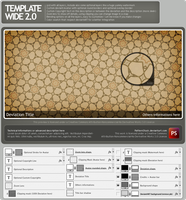 Template Wide 2.0 by PatternStock