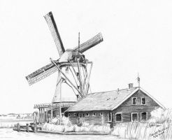Windmill by Joilieder