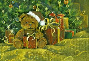 Teddy'S X-Mas by JoannaBromley