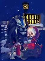 Merry Xmas from Stormwind by Landale