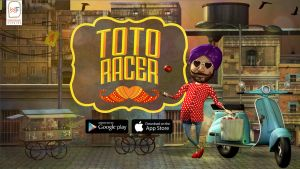 Toto Racer - Game Poster (1) by saumitrakabra