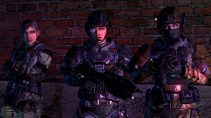 Halo Reach Female UNSC Army Troopers by Solidfreak123
