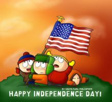 South Park Independence Day by SouthParkPhilosopher