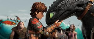 Hiccup and Toothless by Grzeboable