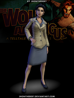 Snow - The Wolf Among Us by JhonyHebert