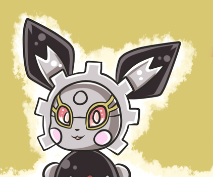 Maria the magearna-pichu- commission by PlatinaSena