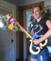 KH2 Kairi's Keyblade by Abby-Leigh