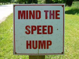 Speed hump by IronMantis