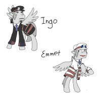 Ingo And Emmet by Soviet-Union-Russia