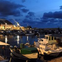 Yaffo port at night by ShlomitMessica
