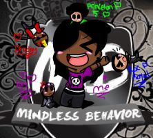 Mindless behavior fanairl(me) by rainbowgummybearswog