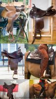 Saddle Stock 3 by Colourize-Stock