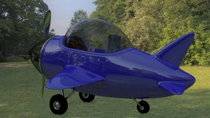 Hard Surface Model Plane by Blanco111