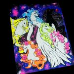 Sailor moon ponies by zambicandy