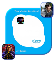 Dave and Jay Skype Call Template by paradigm-shifting