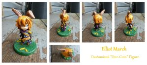 Elliot March - Custom One-Coin Figure by CrowMaiden
