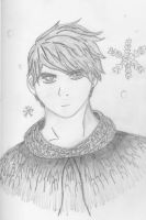 Jack Frost Pencil drawing by Gemgemchan