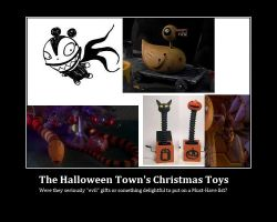 Jack Skellington's Toys by KessieLou