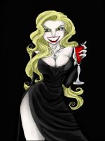 Vampire Pinup Colored by Pin-updoll