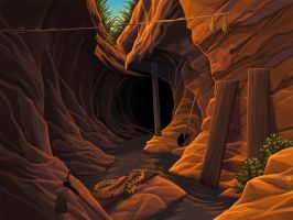 Ravine by tamiart