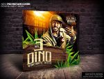 Mixtape Cover Design Template PSD by Industrykidz