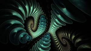 Vortex - Fractal Art by CMWVisualArts