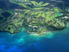 Hawaii from the Sky 4 by wallflour