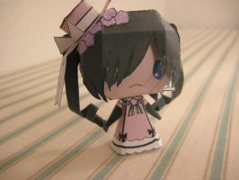 Ciel Robin Papercraft by bunnycharms