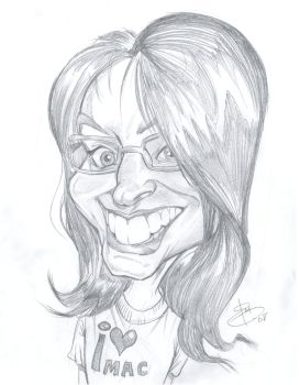 Another caricature by bathill8
