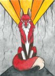 ACEO Volte by Woodswallow