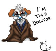 Dogtor Who by Mikkimoo27