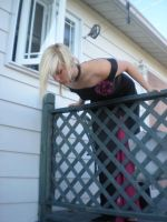 Lady rose at the balcony 07 by gsdark-stock