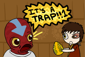 IT'S A TRAP :3.13 SPOILERS: by CubieJ