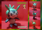 chespin papercraft by javierini