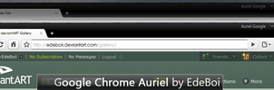 Google Chrome Auriel by EdeBoii