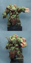 nurgle daemon prince by massivevoodoo wip by skincoffin